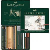 Набор для графики Faber Castell, Pitt Monochrome, 21 предмет (112976)