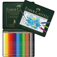 Акварельные карандаши Faber Castell, Albrecht Durer, 24 цв., метал. коробка (117524)