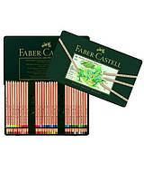Пастельные карандаши Faber Castell, Pitt, 60 цв., метал. коробка (112160)