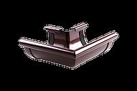 Угол наружный 90 градусов 130 мм для желоба, Водосточные системы пвх Profil комплектующие, монтаж