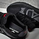 Кроссовки мужские  Armani Jeans, черные (15813) размеры в наличии ► [  44 46  ], фото 8