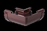 Угол внутренний 90 градусов пластиковый, Водосточные системы Profil комплектующие, монтаж