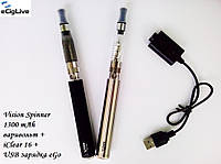 Электронные сигареты Vision Spinner 1300 mAh с переменным напряжением+iClear 16