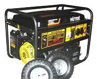 Генератор бензиновый Huter DY 6500 LX с колесами и аккумулятором