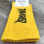Носки мужские демисезонные х/б Happy Socks Thrasher, размер 41-45, высокие, ассорти, 03299, фото 2