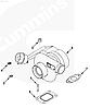 4043981 Турбокомпрессор (Турбина) HE351W на двигатель Cummins ISBe ISDe