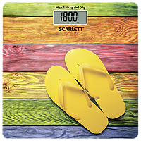 ✅ Весы напольные электронные(стекло) Scarlett SC BS 33E057