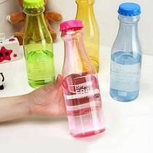 Фитнес бутылка BPA Free глянец креативная бутылка для напитков термос 550 мл