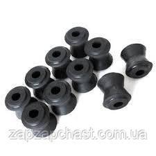 Втулки реактивных тяг Ваз 2101 2103 2105 2106  2107 резиновые услиленные (нивовские)
