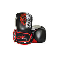 Боксерські рукавиці PowerPlay 3006 Чорні 14 унцій R143986