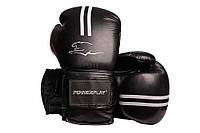 Боксерські рукавиці PowerPlay 3016 Чорно-Білі 14 унцій R144162