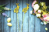 """Топпер """"Кролик"""" желтый, фото 1"""