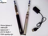 Электронные сигареты Vision Spinner 2 1600 mAh варивольт+CE5 E-Turbo
