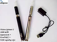 Электронные сигареты Vision Spinner 2 1600 mAh варивольт+Evod BCC