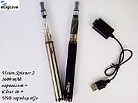 Электронные сигареты Vision Spinner 2 1600 mAh варивольт+iClear 16, фото 1