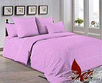 Евро постельное белье ранфорс R0905 violet  ТM TAG