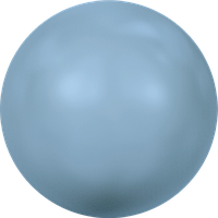 Полужемчуг клеевой горячей фиксации (HOTFIX) 2080/4 Turquoise Pearl (упаковка 1440 шт) 10ss