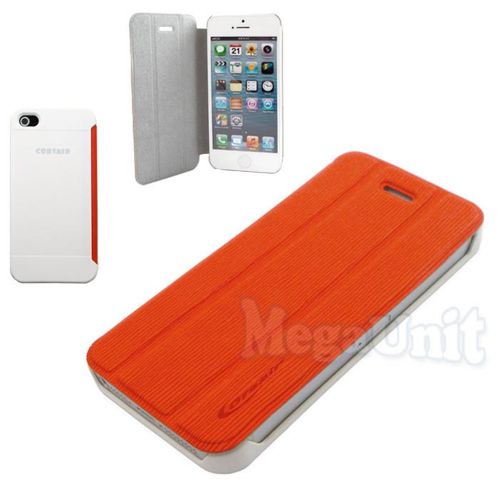 Corsair Компактный чехол-книжка для iPhone 5/5S Оранжевый