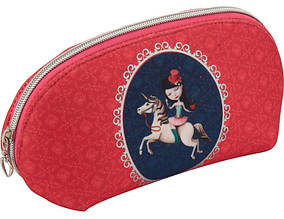 Пенал-косметичка Kite Secret wish K17-655, без наполнения, розовый