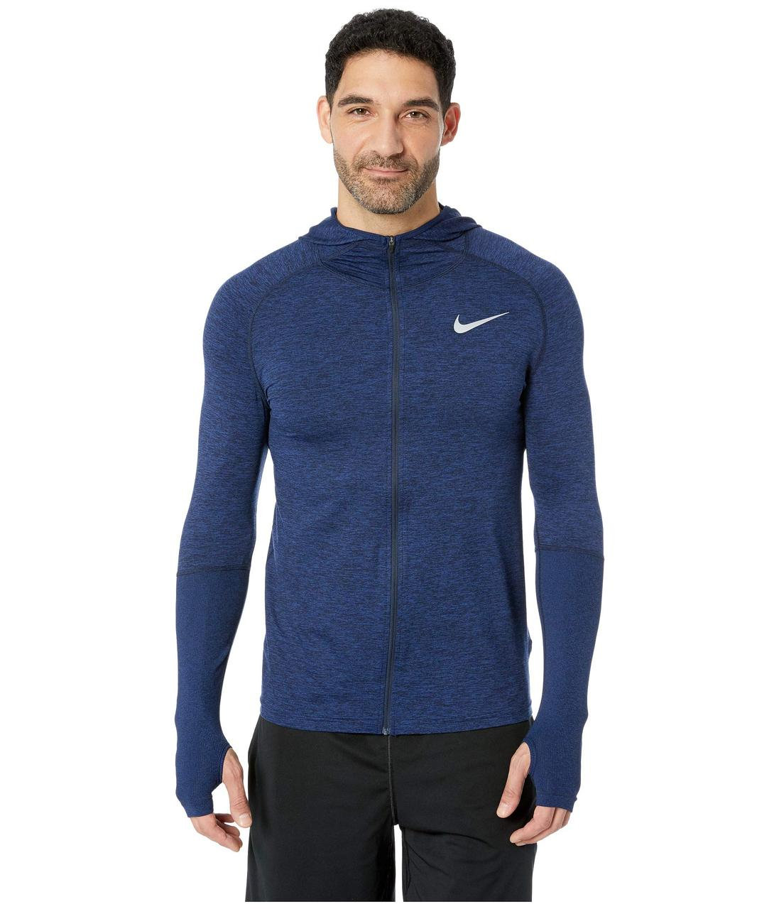 6bb7cb02 Толстовка Nike Element Full Zip Hoodie Blue - Оригинал - FAIR -  оригинальная одежда и обувь