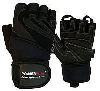 Рукавички для фітнесу PowerPlay 1063 E Чорні S - 144106