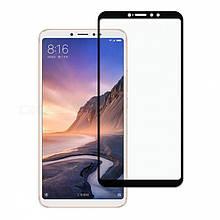 Защитное стекло Full Glue для Xiaomi Mi Max 3 (чёрный)
