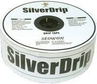 Капельная лента SilverDrip, 16ммх8MIL, капельницы через 15см, бухта 1000м
