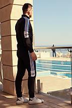 """Мужской трикотажный спортивный костюм """"Dirk"""" с лампасами (2 цвета), фото 3"""
