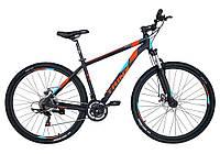 Горный велосипед Trinx MAJESTIC M136 Pro матовый черный/красный/синий 26 колеса х 19 рама