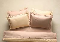 Постельное бельё Karaca Home - Solid yavruagzi ранфорс полуторный
