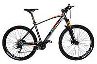 Горный велосипед Trinx BIG 7 B700 Матовый серый/оранжевый/синий  27.5 колеса х 18 рама