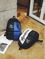 Крутой тканевый рюкзак для школы, фото 3