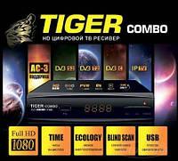 Ресивер TIGER Combo DVB-S2/T2/C Спутниковый и Т2 тюнер Комбинированный
