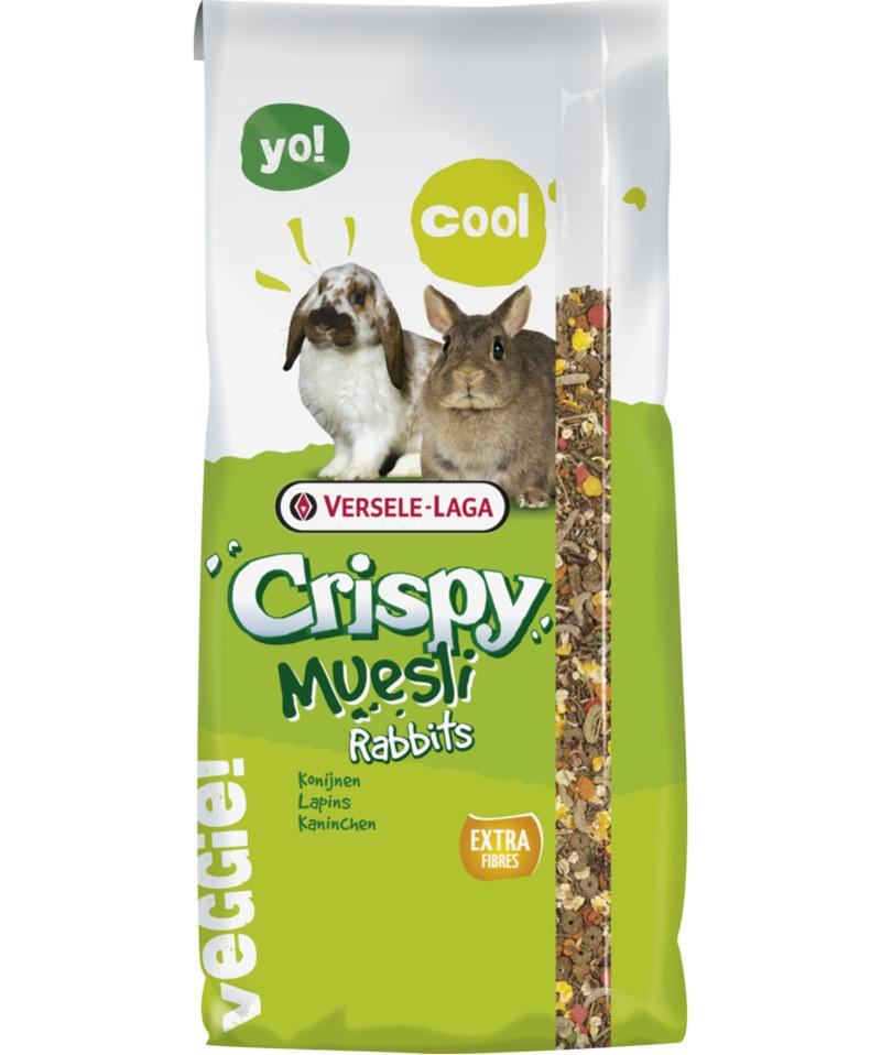 Корм для кроликов Crispy Muesli Rabbits Cuni зерновая смесь 20 кг Versele-Laga
