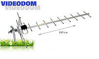 Антенна DVB-T2 Eurosky VIDEODOM Т2 HD-3040 1,0 м (60 км)