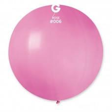 Шар гигант большой 80 см, розовый