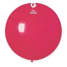 Шар гигант большой 80 см, красный