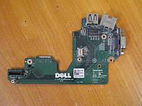 Плата USB, VGA, LAN, SIM Dell Latitude E5420 63N3K БУ