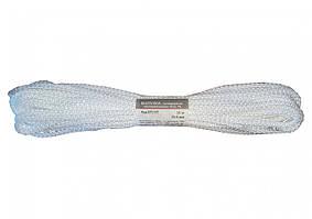 Мотузка господарська Тип 5 TM VIROK, 5мм Х 10 м, р/н=80кгс, поліпропіленова, без серцевин, біла