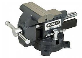 Лещата чавунні STANLEY MAXSTEEL : ширина губок - 85 мм, максимальне розкриття - 100 мм, для малих навантажень