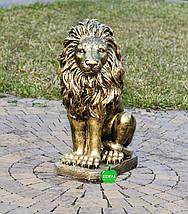 Садовая фигура Львы средние, фото 3