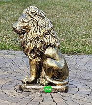 Садовая фигура Львы средние, фото 2