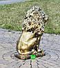 Садовая фигура Львы средние, фото 5