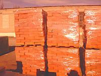 Кирпич красный керамический полнотелый одинарный М-125 в г.Днепропетровске с доставкой!