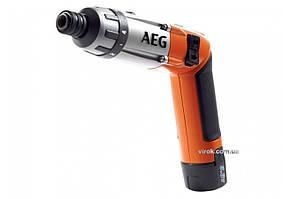 Отвертка аккумуляторная AEG Li-Ion 3.6 В 1.5 Ач 6.5 Нм + 2 аккумулятора (4935413165)