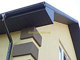 Софит металлический перфорированный цвет коричневый RAL 8017 МАТ 0,43 мм Китай, фото 8