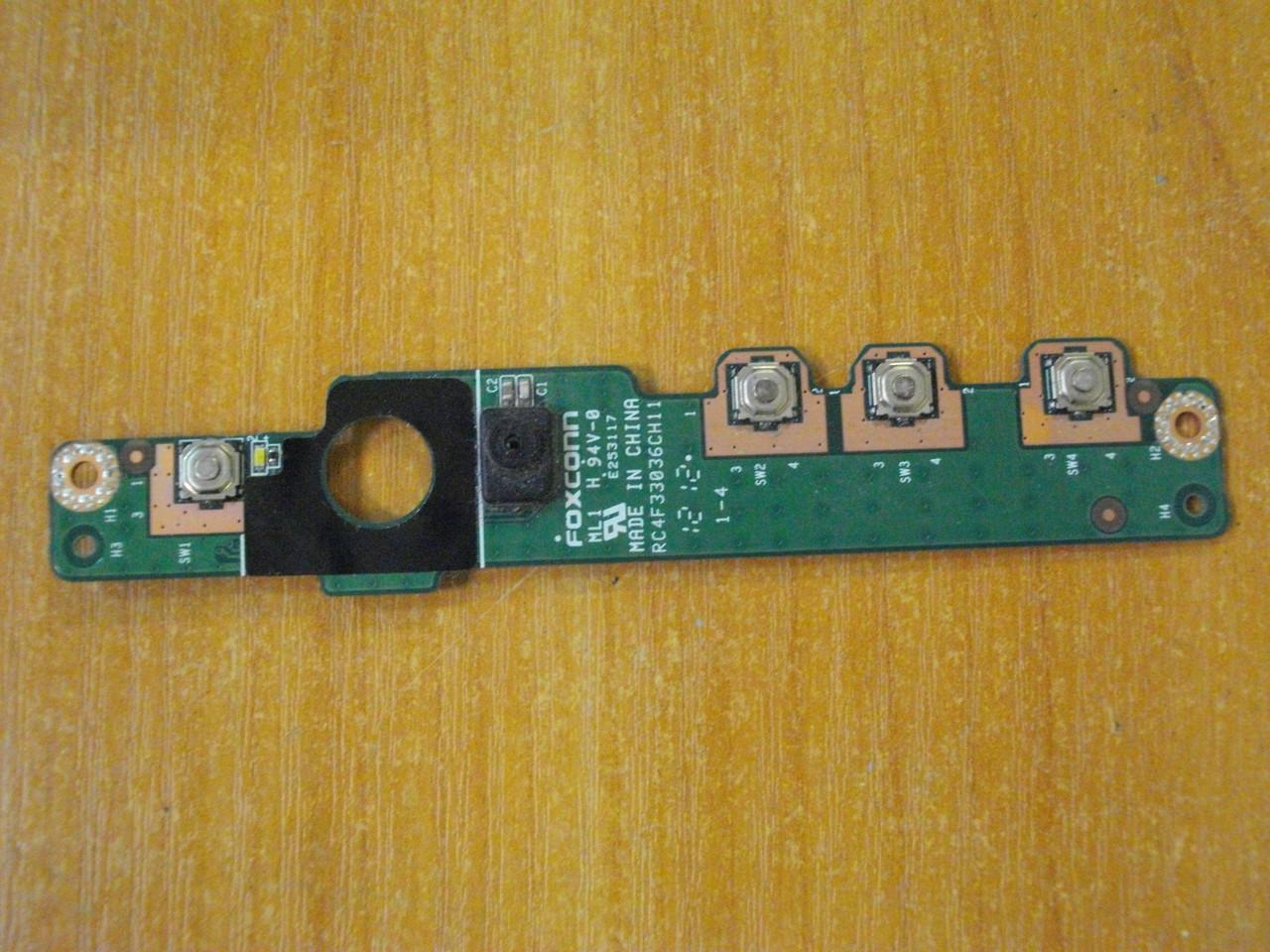 Плата с кнопками и кнопкой включения 7V482 DELL Latitude E5420 бу
