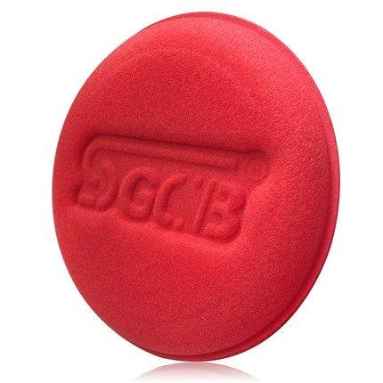 SGCB SGGD002 Hand Wax Sponge Круглый поролоновый аппликатор, красный 10х2 см 6 шт.
