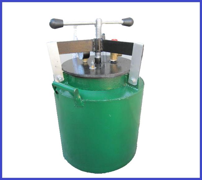 Автоклав зеленый винт маленький газ (0,5л- 5 банок 1л-10 банок)