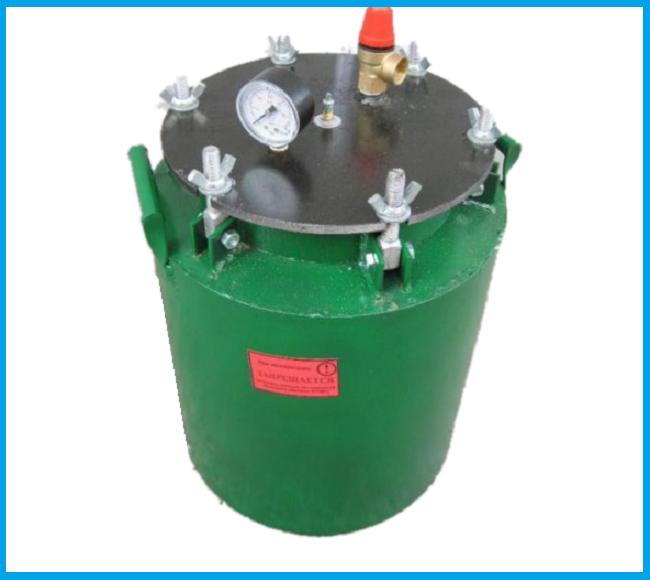 Автоклав барашки маленький газ(1 л-5 шт. 0,5- 12 шт)